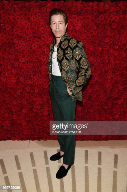 Shaun White attends the Heavenly Bodies Fashion The Catholic Imagination Costume Institute Gala at The Metropolitan Museum of Art on May 7 2018 in...