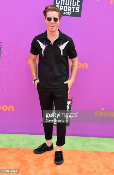 Shaun White attends the Nickelodeon Kids' Choice Sports Awards 2017 at Pauley Pavilion on July 13, 2017 in Los Angeles, California.