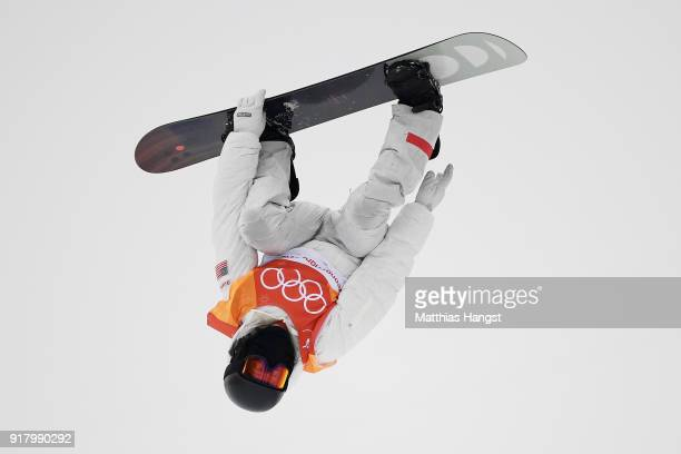 Shaun White of the United States competes during the Snowboard Men's Halfpipe Final on day five of the PyeongChang 2018 Winter Olympics at Phoenix...