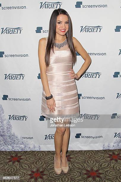 Shauna Baker attends Variety's Indie Impact Awards In Partnership With Screenvision on January 18 2014 in Park City Utah