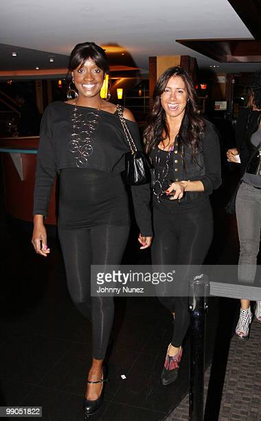 Shauna Neely and Tammy Brook attend Bottles & Strikes at Chelsea Piers on May 11, 2010 in New York City.