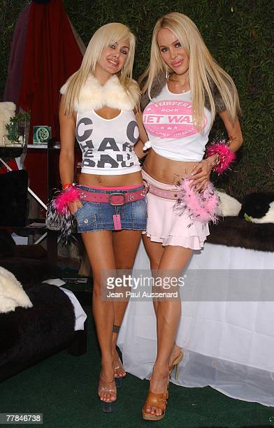 Shauna Sand and Tabitha Taylor at Nui Organics Photo by JeanPaul Aussenard/WireImage for Silver Spoon