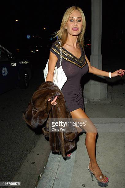Shauna Sand during Celebrity Sightings at Koi in West Hollywood March 2 2007 at Koi in West Hollywood California United States