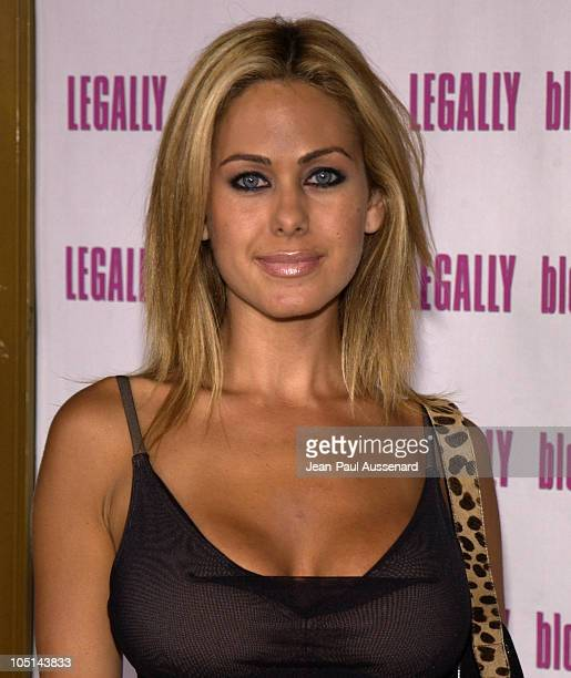 Shauna Sand during Legally Blonde 2 Red White Blonde Los Angeles Screening at Mann National Theatre in Westwood California United States