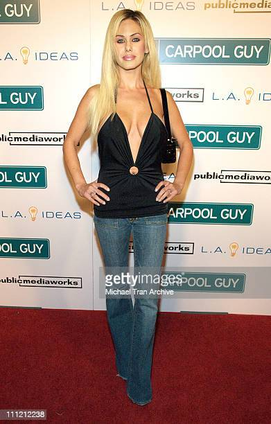 Shauna Sand during World Premiere of The Public Media Works Independent Feature Film Carpool Guy Arrivals at Arclight Theaters in Hollywood...