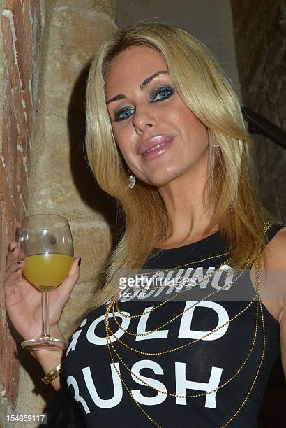 Shauna Sand from 'Hollywood Girls' attends the 'Les 10 Ans de Marc Mitonne' Party Hosted by '2 Mains Rouges' at the Marc Mitonne Restaurant on...