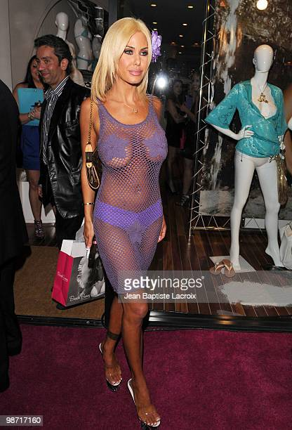 Shauna Sand is seen on April 27 2010 in Los Angeles California
