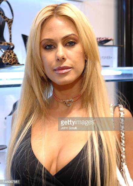 Shauna Sand Lamas during Donald Pliner Cure Autism Now VIP Night at Donald Pliner in Los Angeles California United States