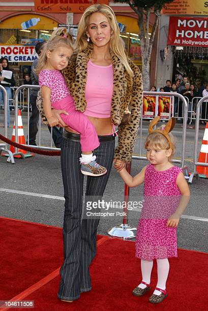 Shauna Sand Lamas during Kangaroo Jack Premiere at Grauman's Chinese Theatre in Hollywood CA United States