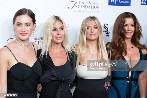 Shauna SandLamas Alexandra Lamas Isabella Lamas and Carrie Stevens attend The Brent Shapiro Foundation Summer Spectacular on September 7 2018 in...