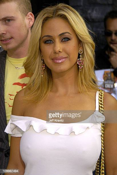 Shauna Sands during 2004 MTV Movie Awards Backstage and Audience at Sony Pictures Studios in Culver City California United States