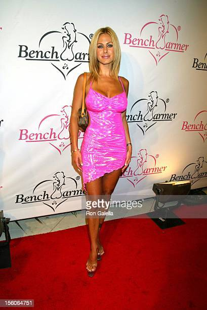 Shauna Sands during Release Party For Bench Warmer Trading Cards at White Lotus in Hollywood California United States