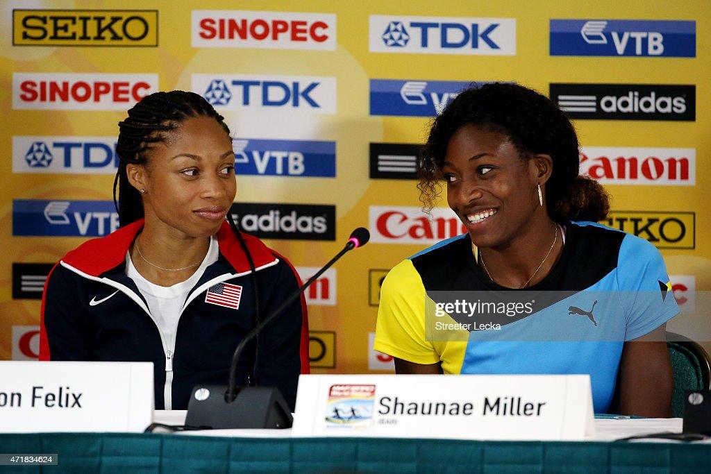 IAAF/LOC Press Conference : News Photo