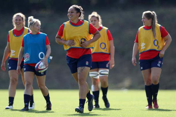 GBR: England Women Training