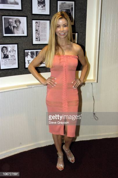Shaune Bagwell during Renee Taylor's OneWoman Stage Portrait An Evening With Golda Meir Premiere Engagement at The Canon Theater in Beverly Hills...