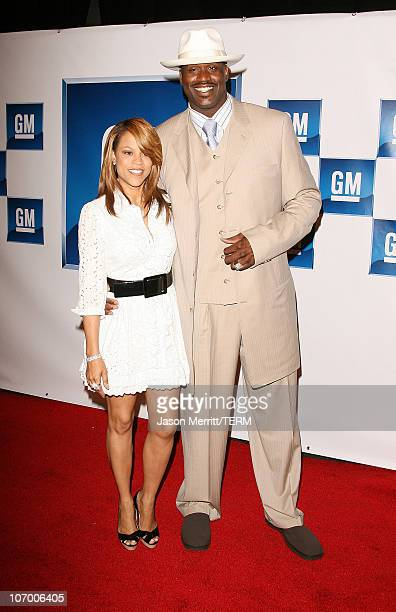 Shaunie O'Neal and Shaquille O'Neal during General Motors Presents 3rd Annual GM AllCar Showdown Hosted by Shaquille O'Neal Arrivals at Paramount...