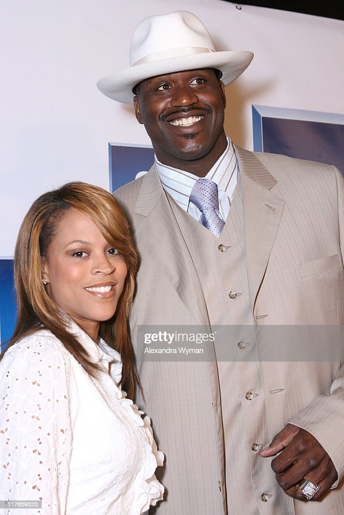 Shaunie O'Neal and Shaquille O'Neal during General Motors Presents 3rd Annual GM All-Car Showdown Hosted by Shaquille O'Neal - Red Carpet at Paramount Studios in Hollywood, California, United States.
