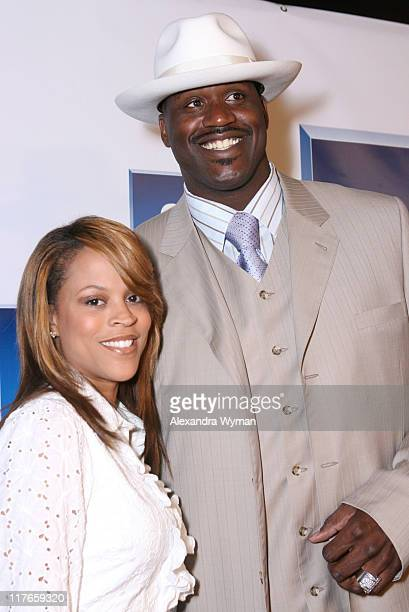 Shaunie O'Neal and Shaquille O'Neal during General Motors Presents 3rd Annual GM AllCar Showdown Hosted by Shaquille O'Neal Red Carpet at Paramount...