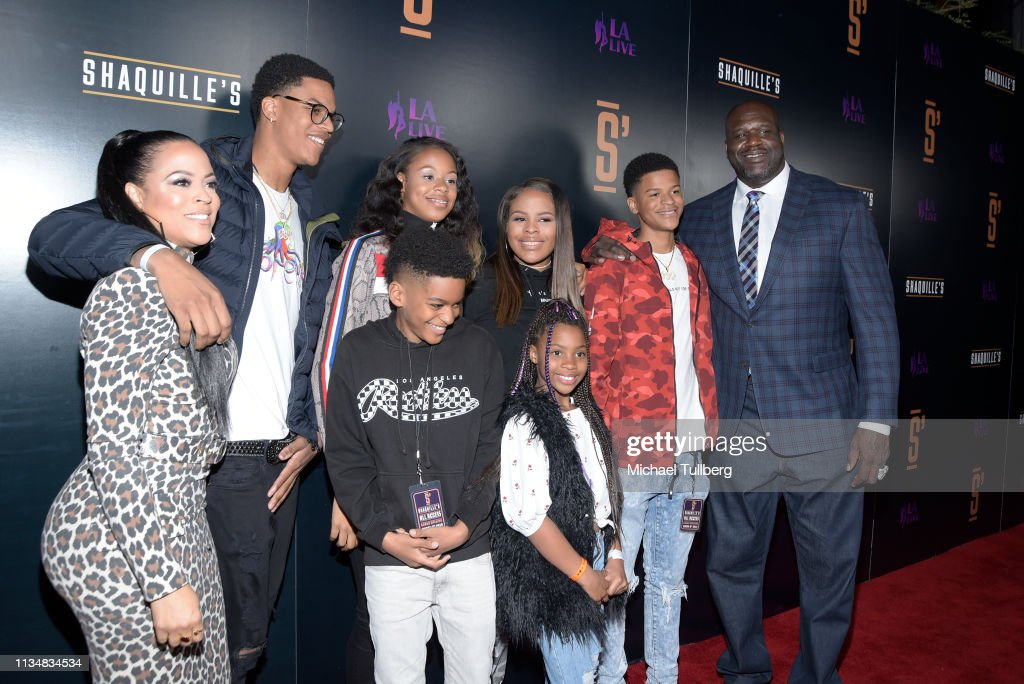 Grand Opening Of Shaquille's At L.A. Live : News Photo