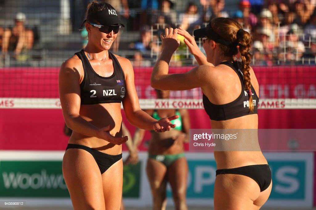 Beach Volleyball - Commonwealth Games Day 5 : ニュース写真