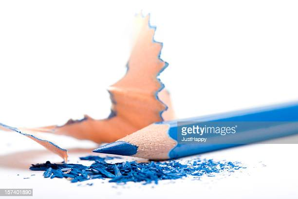 Shaved Blue Pencil