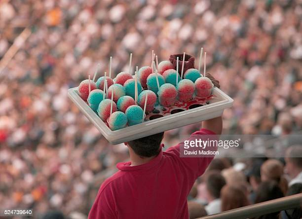 Shaved ice vendor at Safeco Field