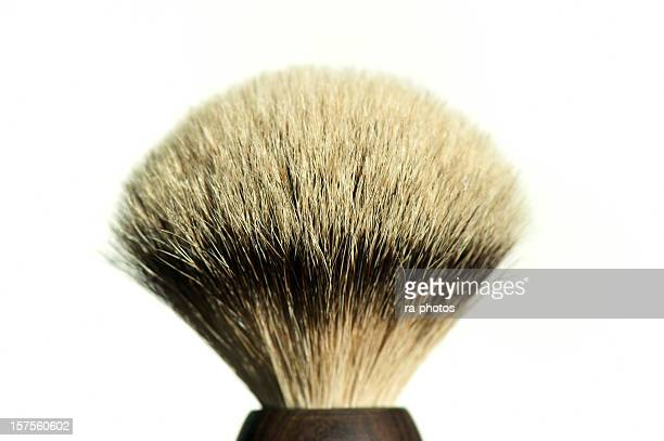shaving brush - shaving brush stock photos and pictures