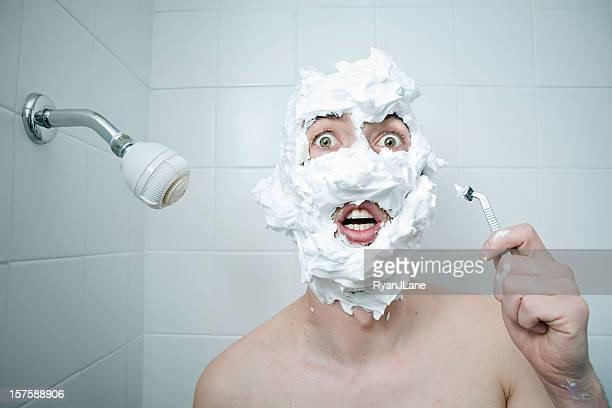 Shaving Cream Disaster
