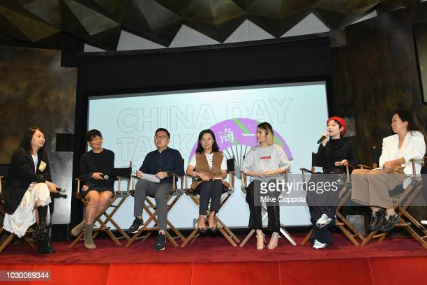 Shaway Yeh Creative Director of NOWNESS Li Lin CEO of JNBY Liu Bo president of Tmall Marketing Operations Jessica Liu president of Tmall Fashion 9...