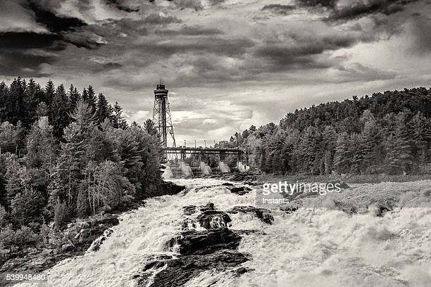shawinigan falls - shawinigan stock pictures, royalty-free photos & images