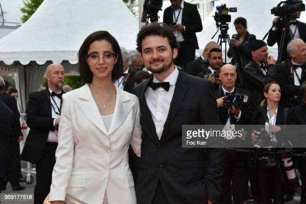 B Shawky and Dina Emam attends the screening of 'Solo A Star Wars Story' during the 71st annual Cannes Film Festival at Palais des Festivals on May...