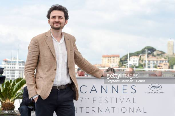 Shawky attends the 'Yomeddine' Photocall during the 71st annual Cannes Film Festival at Palais des Festivals on May 10 2018 in Cannes France