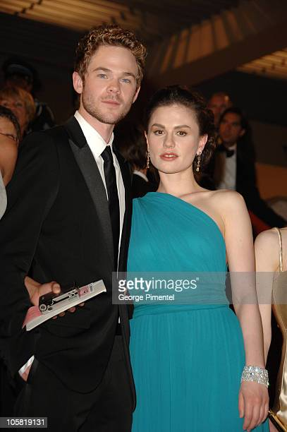 Shawn Ashmore and Anna Paquin during 2006 Cannes Film Festival 'XMen 3 The Last Stand' Premiere Departures at Palais des Festival in Cannes France