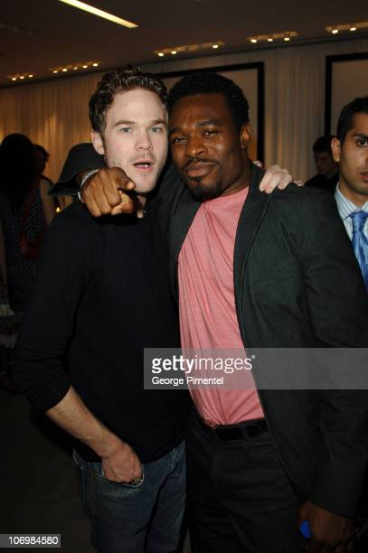 Shawn Ashmore and Lyriq Bent during 31st Annual Toronto International Film Festival Holt Renfrew Presents Burberry at the Toronto Film Festival at...