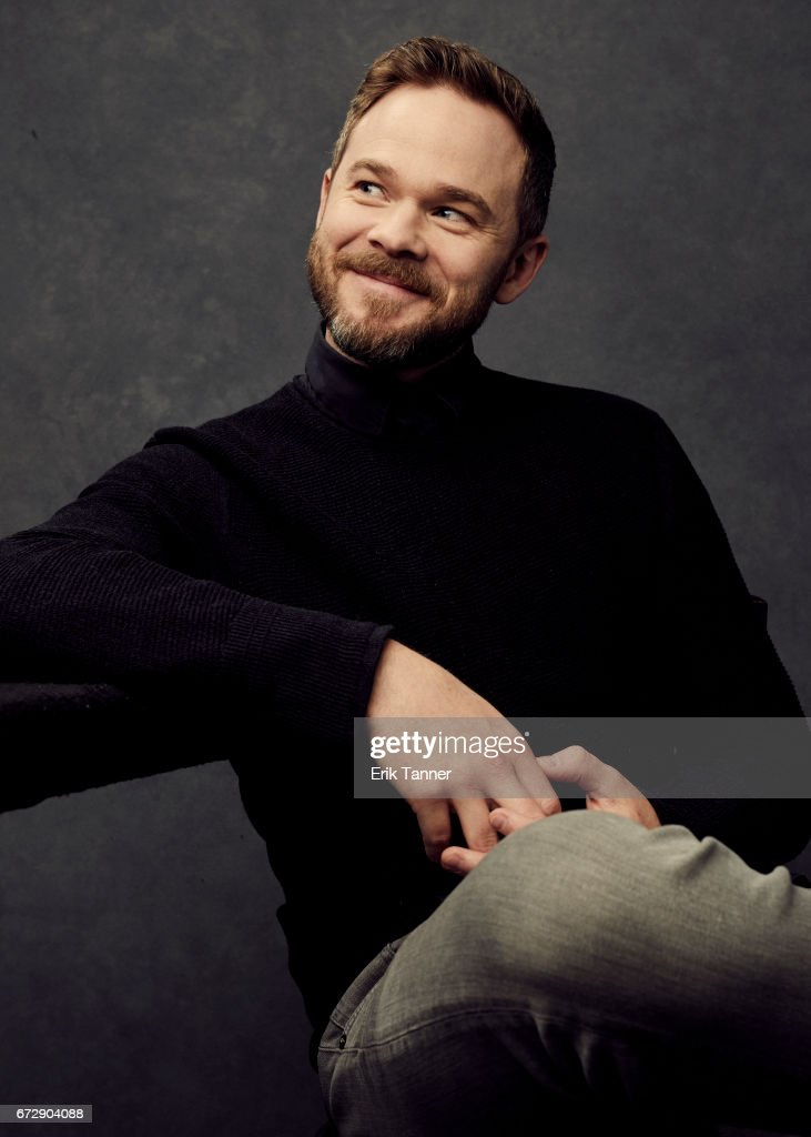 Shawn Ashmore from 'Devil's Gate' poses at the 2017 Tribeca Film Festival portrait studio on April 24, 2017 in New York City.