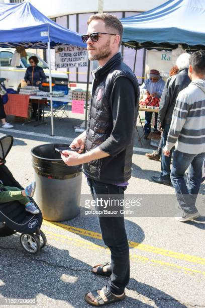 Shawn Ashmore is seen on March 24 2019 in Los Angeles California