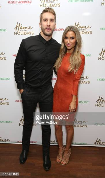 Shawn Booth and Kaitlyn Bristowe attend the Broadway Opening Night after party for 'Home for the Holidays The Broadway Concert Celebration' at the...