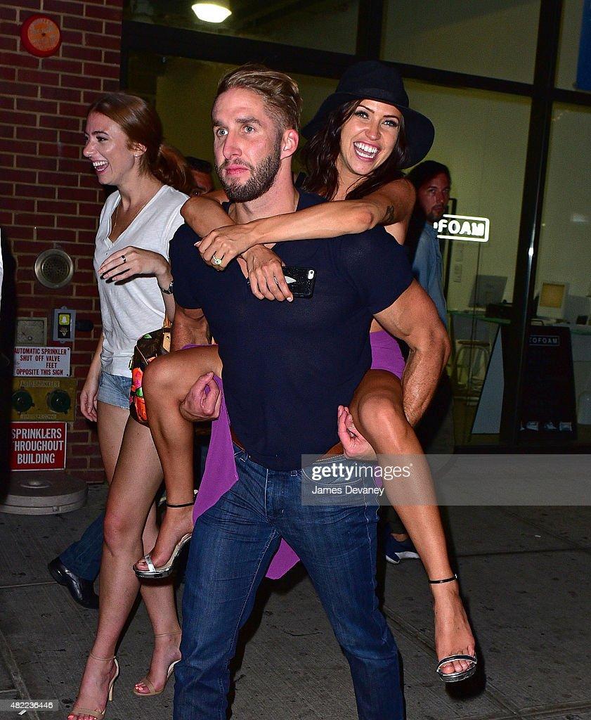 Celebrity Sightings In New York City - July 29, 2015