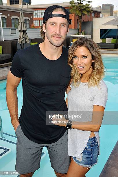 Shawn Booth and Kaitlyn Bristowe visit Hard Rock Hotel San Diego on November 12 2016 in San Diego California