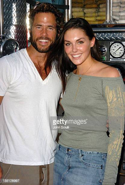 Shawn Christian and Taylor Cole during 2nd Annual Franklin Village Street Fair at Franklin Street in Los Angeles California United States