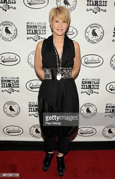 Shawn Colvin attends The Life Songs of Emmylou Harris An All Star Concert Celebration at DAR Constitution Hall on January 10 2015 in Washington DC