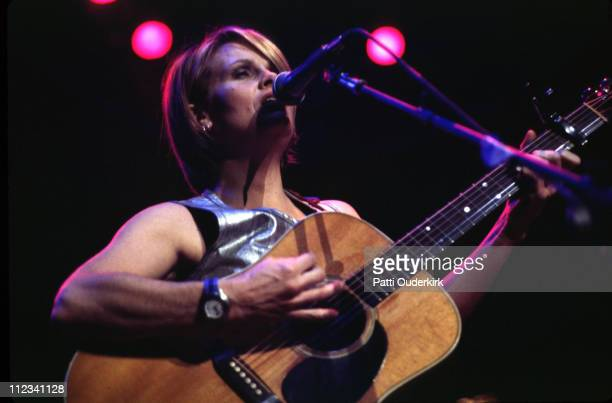 Shawn Colvin during Z100 Jingle Ball Charity Concert 1996 at Madison Square Garden in New York City New York United States