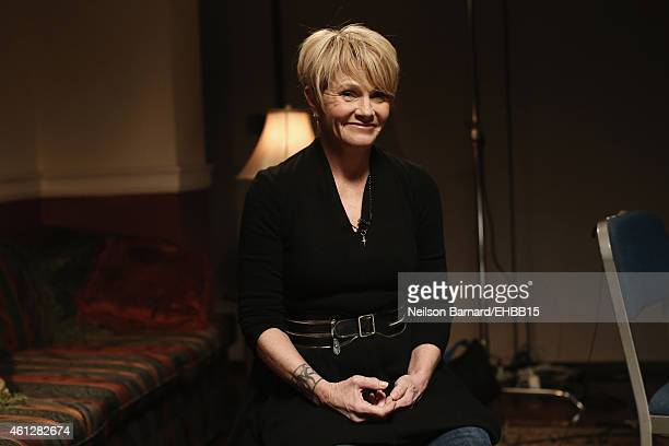 Shawn Colvin gives an interview backstage at The Life Songs of Emmylou Harris An All Star Concert Celebration at DAR Constitution Hall on January 10...
