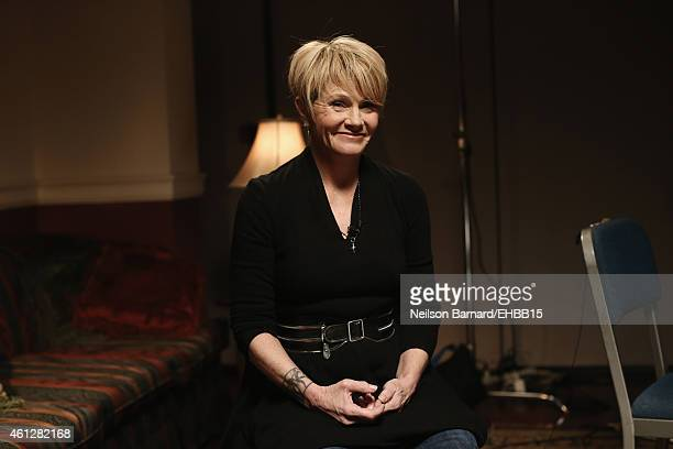 Shawn Colvin is seen backstage prior to The Life Songs of Emmylou Harris An All Star Concert Celebration at DAR Constitution Hall on January 10 2015...
