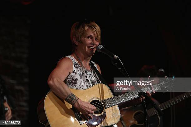 Shawn Colvin joins the Watkins Family Hour when they perform at City Winery on July 28 2015 in New York City