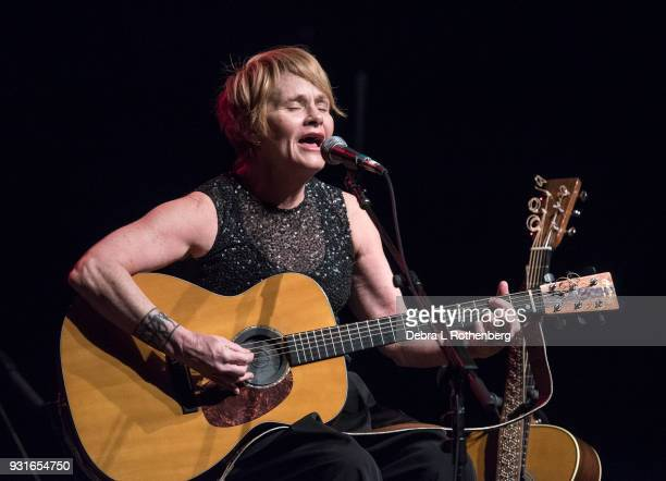 Shawn Colvin live in concert at Bergen Performing Arts Center on March 13 2018 in Englewood New Jersey