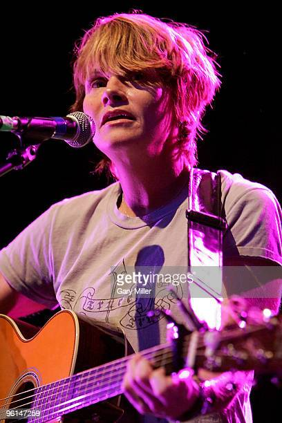 Shawn Colvin performs at the ''Help Us Help Haiti'' benefit concert at the Austin Music Hall on January 24 2010 in Austin Texas
