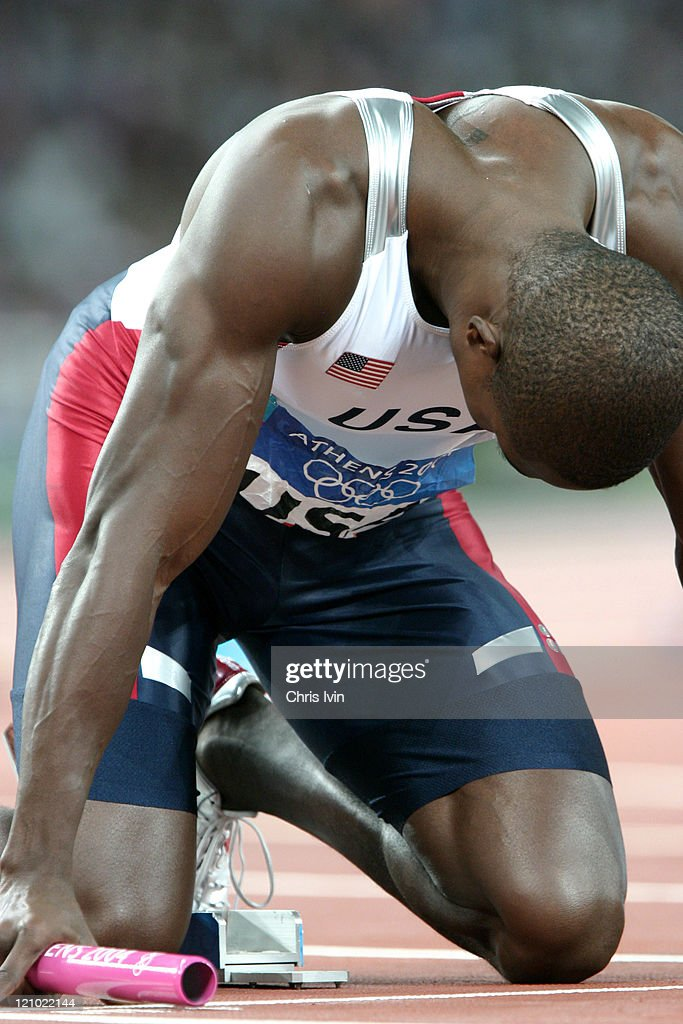 Athens 2004 Olympic Games - Day 15 - Athletics - Mens 4x100m Final