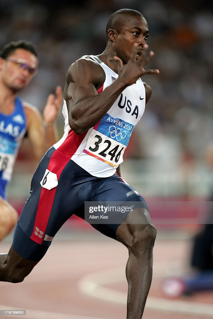 Athens 2004 Olympic Games - Day 12 - Athletics - Men's 200m Semifinal