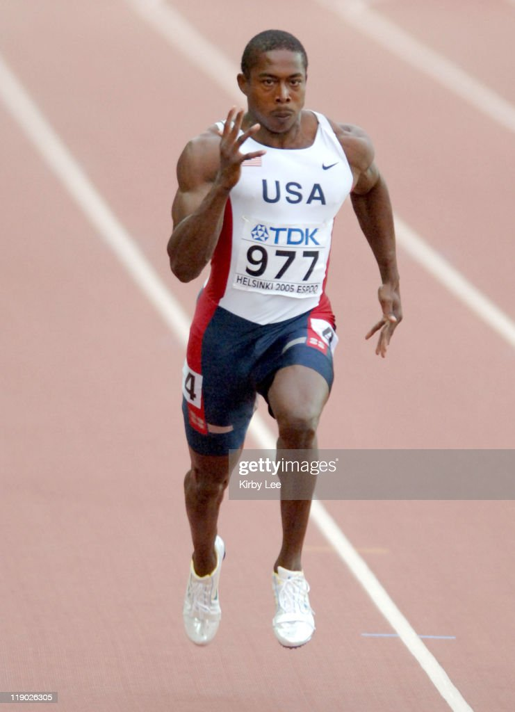 2005 IAAF World Championships in Athletics - Men's 100m - Quarterfinal - August
